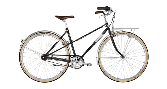 Ortler Bricktown - Vélo de ville Femme - noir